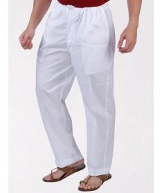 White Cotton Pajama Nadi