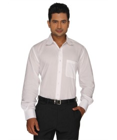 White SuperFine Cotton Full Sleeves Shirt