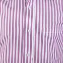 JAPs Pink Striped Cotton Formal Shirt
