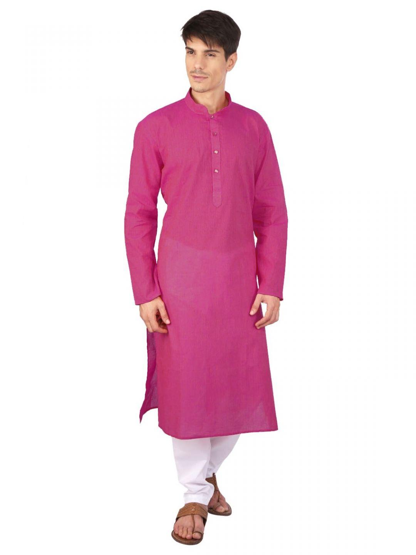 Deep Pink Long Kurta